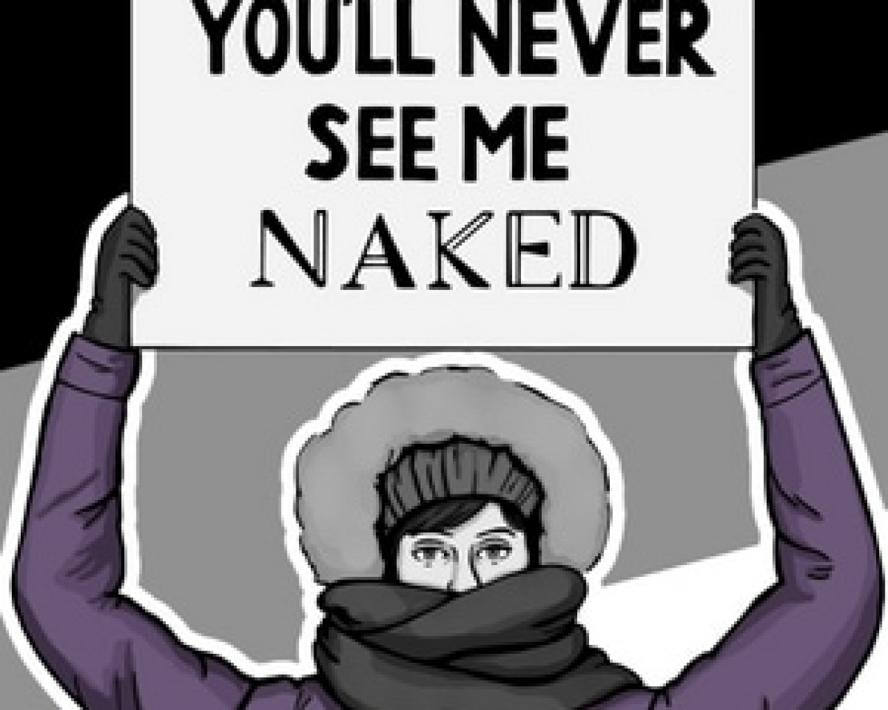 Poster Image for You'll Never See Me Naked