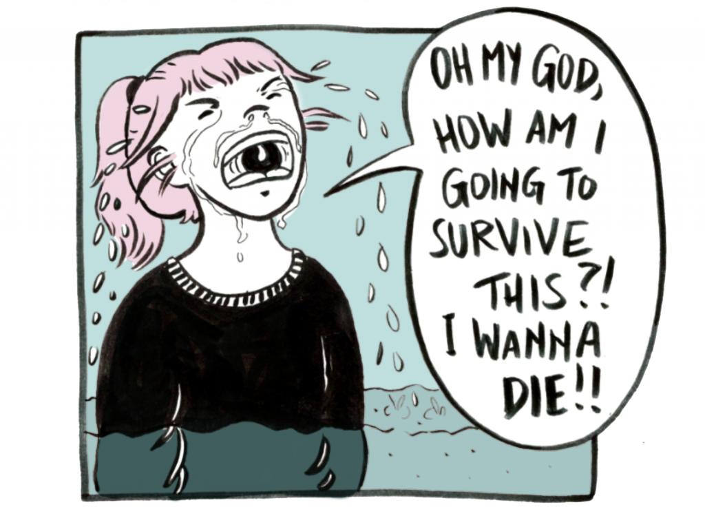 The breakup comic