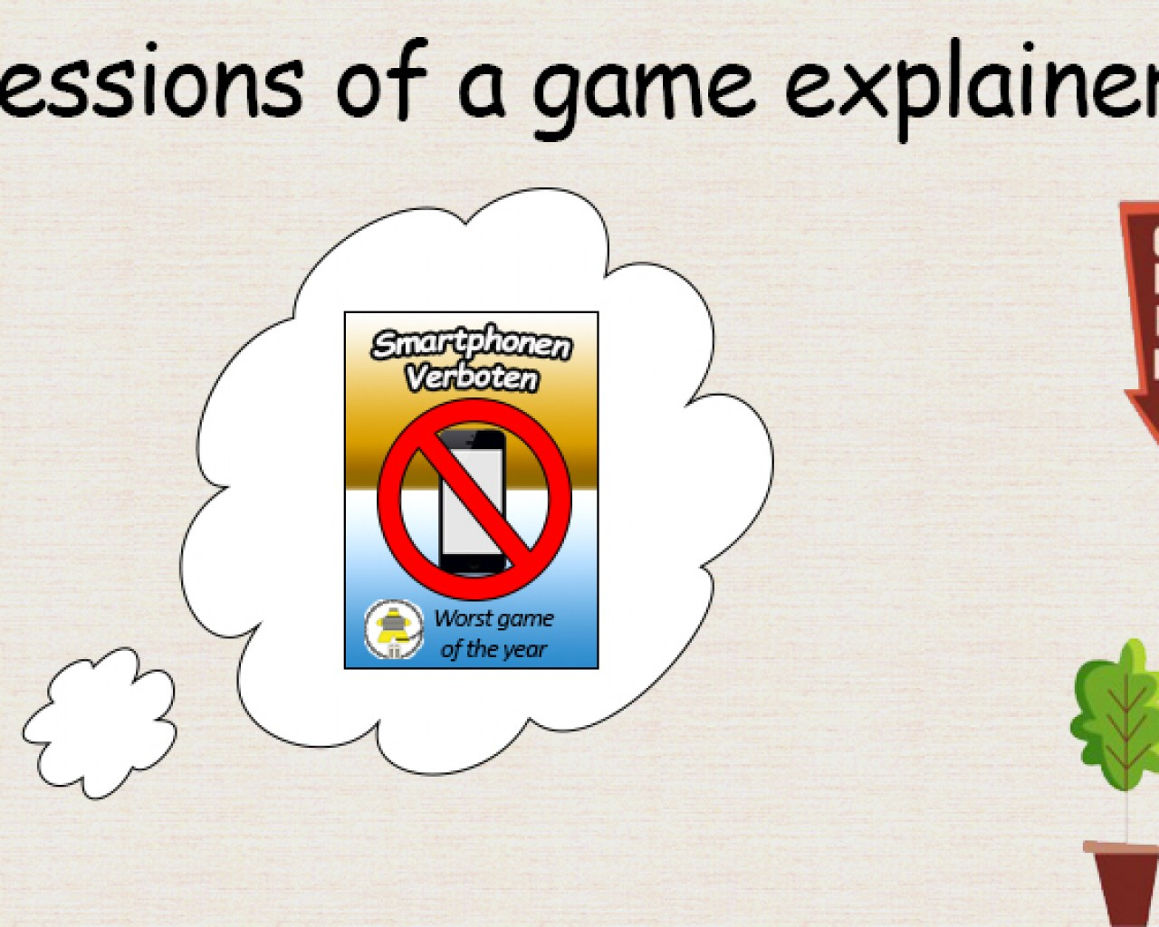 Poster Image for confessions of a game explainer