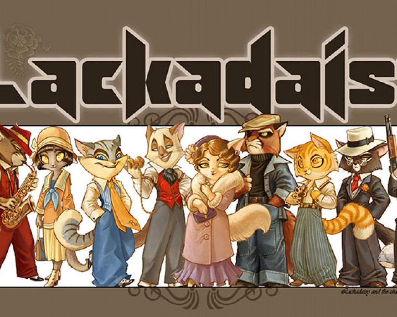 Poster Image for Lackadaisy Cats