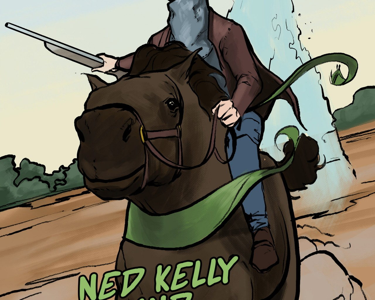 Poster Image for Outlaws of Oz: The Bushranger Chronicles - Ned Kelly and the Green Sash