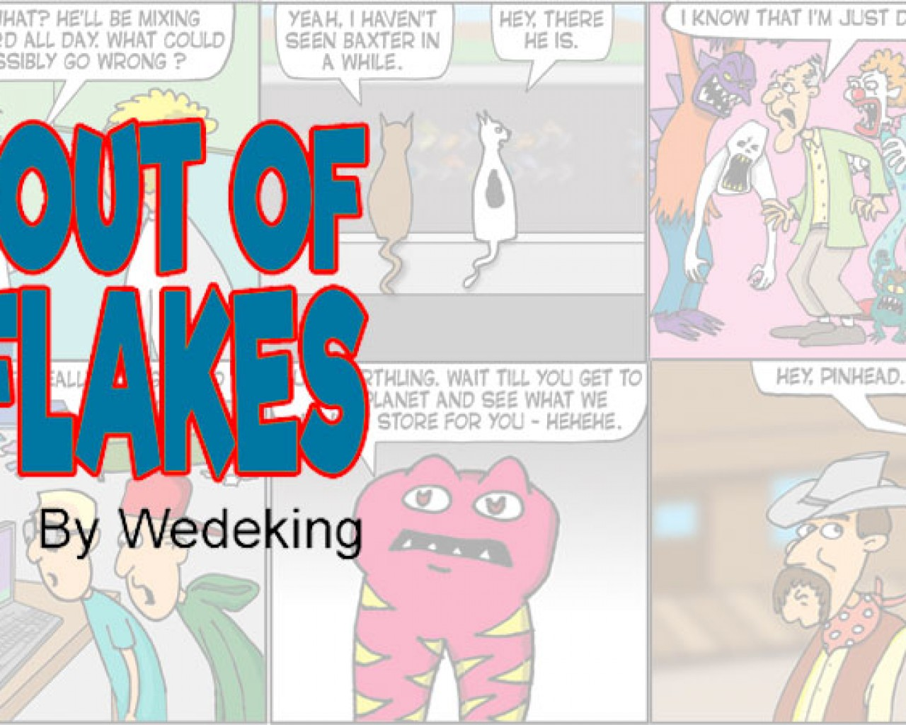 Poster Image for We're Out of Cornflakes